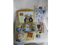 Despicable Me 3 Merchandise (Lunchbox, stickers, stationery set, beach ball, toys, magnet)