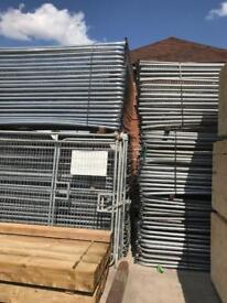 Heras security fence panels