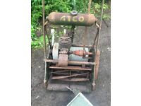 Atco vintage lawnmower early 1900's