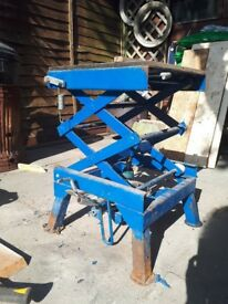 Motorcycle scissor lift/stand/ lift/ jack.