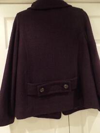 Edina Ronay Purple jacket Size 12
