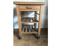 John Lewis wooden Butchers Table