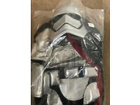 Disney Star Wars captain Phasma costume age 7-8