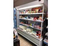 3 open deck fridge chillers for sale