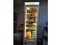 Frozen food freezer & ice cream freezer