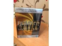 James Bond DVD set.