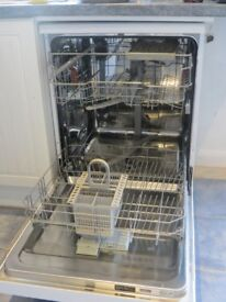 Hotpoint dishwasher less than a year old
