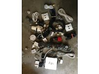 JOB LOT TV Ariel, SKY BOX, 4 Way adaptor, Scart, travel adaptors Various