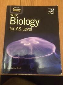 WJEC AS Biology textbook