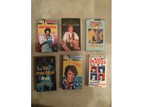 12 Assorted Collectible Music VHS (YES, Elvis, John Lennon, Paul McCartney)