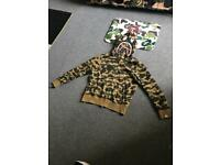 Bape hoodie size M (used)