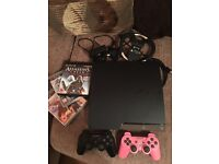 Sony PlayStation 3 slimline 500gb bundle PS3 with accessories