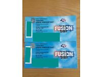 ** FUSION FESTIVAL ** weekend ticket £80 (have another pair)