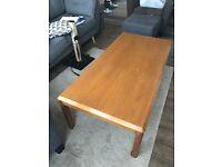 John Lewis solid wood coffee table
