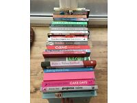 Cook books bulk buy £30 (reduced)