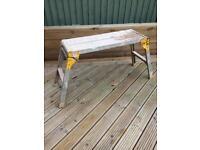 Aluminium hop-up bench