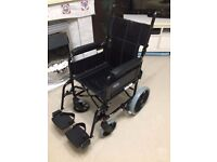 "Invacare Ben NG Attendant Folding Wheelchair - 15"" x 16"" - RRP 500"
