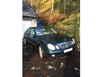 SPARES OR REPAIR - Mercedes E270cdi Auto - READVERTISED AT REDUCED PRICE
