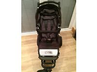 Mountain Buggy Swift Inc. Immaculate Carry Cot and Car Seat Travel System