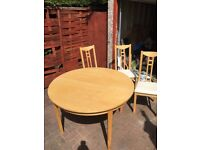 CHEAP TABLE AND 6 CHAIRS