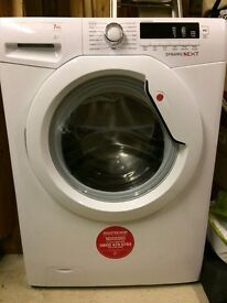 Washing Machine. 7KG Hoover. 1500 spin speed. A performance ratings.