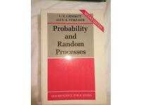Probability and Random Processes by Geoffrey Grimmett, David Stirzaker