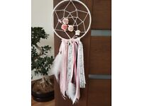 """Dreamcatcher 6"""" MADE TO ORDER baby shower gift nursery wall decoration"""