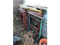 Builders Tressels and scaffold boards