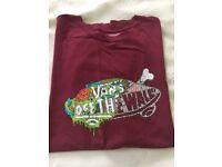 Boy's T-shirt Vans Large