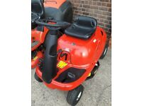 LAWNFLITE SPRINTO COMPACT RIDE ON LAWNMOWER