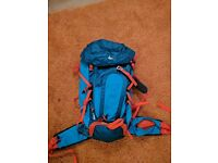 Quecha Forclaz 30L Air + Backpack blue orange