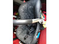 Silver Cross Interchangeable Pram and Car Seat Set