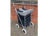Shopping Trolley. Purchased from Argos. Used once. EXCELLENT CONDITION