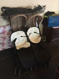 OBABY TWIN BUGGY