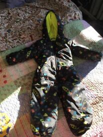1.5 to 2 years snowsuit