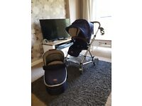 Mamas and Papas urbo 2 pushchair and carrycot.