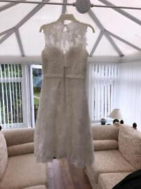 Wedding dress for sale size 12/14