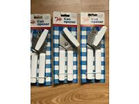 3 brand new Tala Can Openers