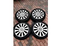 VW Alloy Wheels & Tyres 17'