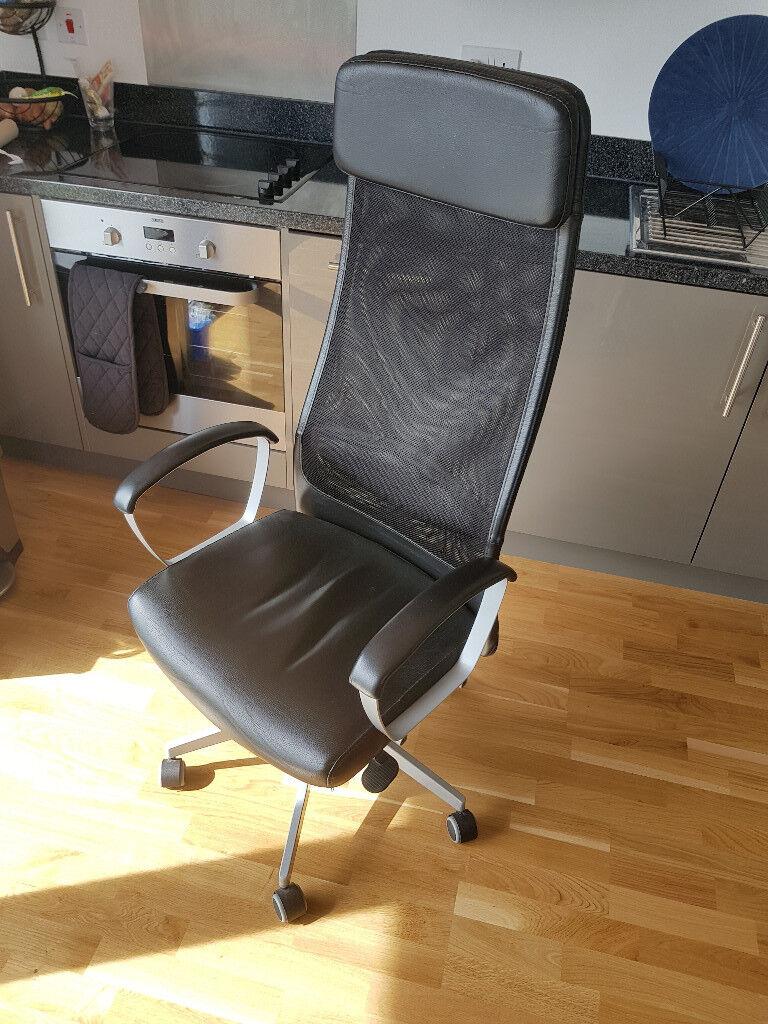 Ikea Markus Swivel Office Chair