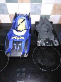 Two batman cars