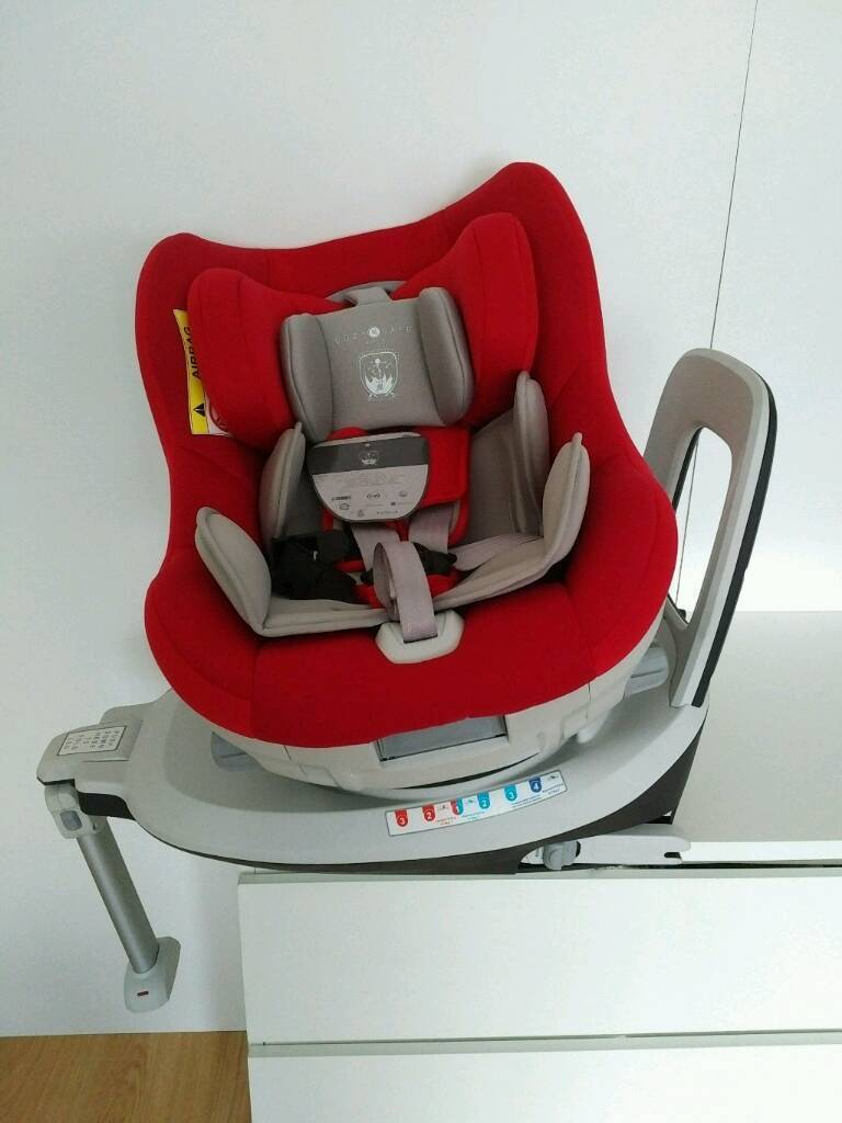 NEW Cosy n Safe Merlin 360 rotating spin dualfix car seat RRP £250