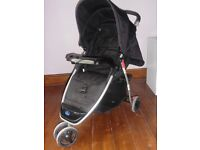 Babystart 3 Wheeler Pushchair and Accessories