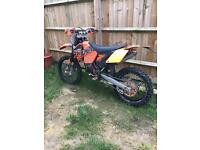 Ktm exc 125 ! 2006 model road registered