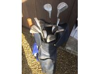 RH Golf Clubs and Bag