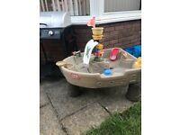 Little tikes pirate ship sand/water table