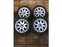 "17"" Alloys With New tyres & nuts"