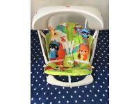 Fisher price baby swing and bath chair