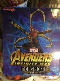 Avengers iron spider artfx statue