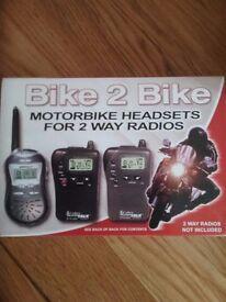 VOX Rider to Rider Radios + VOX Headsets.